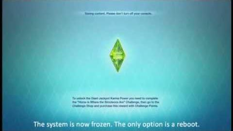 The Sims 3 Freeze on Consoles
