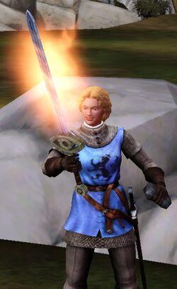 Jacoban Flame Sword