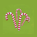 Yard Christmas Candy Canes