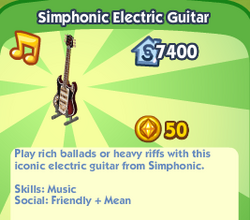 Simphonic Electric Guitar