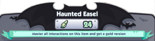 Haunted Art Banner