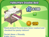 ValleyView Double Bed