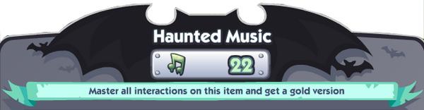 Haunted Music Banner
