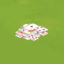 Yard Pile of Cards
