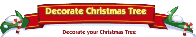 Decorate Christmas Tree Banner