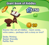 Giant Book of Riddles