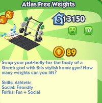 Atlas Free Weights