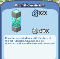 Futuristic Aquarium Description