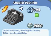 Couplet Poet Pro