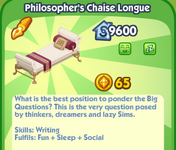 Philosopher's Chaise Lounge