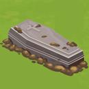 Yard Halloween Coffin