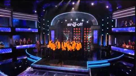 """1st Performance - The YellowJackets - """"Wavin Flag"""" By K'Naan - Sing Off - Series 3"""