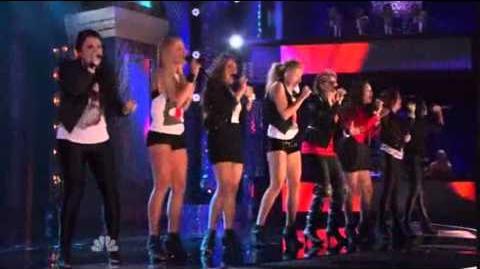 "1st Performance - Delilah - ""Grenade"" by Bruno Mars - Sing Off - Series 3"