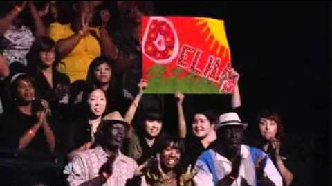 6th Performance - Delilah - Alicia Keys Medley - Sing Off - Series 3