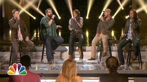 """Home Free Sings """"Cruise"""" - The Sing-Off"""