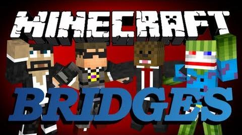 Minecraft Bridges Minigame w CaptainSparklez, SkyDoesMinecraft, and Bashur