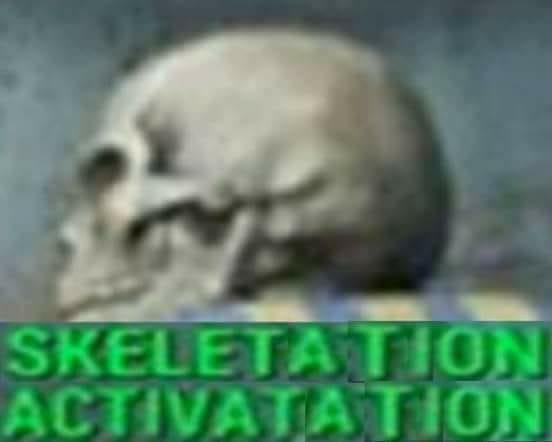 Skeletation activatation