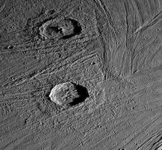 647px-Craters on Ganymede
