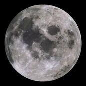 Earths moon from noaa