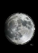 Moon Earth Cut