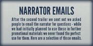 Museum Emails Plaque