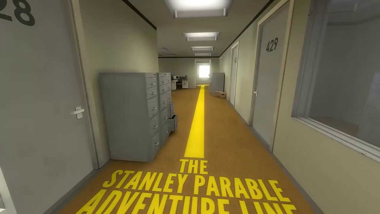 Image result for the stanley parable adventure line