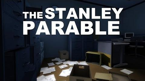 The Stanley Parable a Serious Room with a Very Serious Table