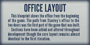 Museum Office Layout Plaque