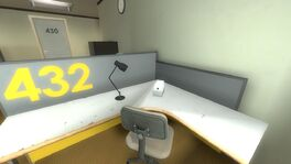 Employee 432 desk