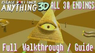 Please, Don't Touch Anything! 3D VR - All 30 Endings Full Guide Walkthrough (no commentary)