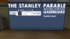 Stanley Parable Worldwide Leaderboard