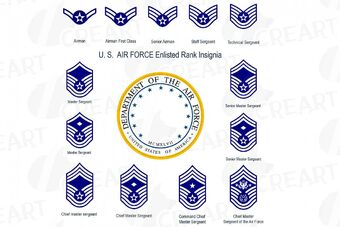 United States Air Force Enlisted Ranks Thestargateprogram Wikia