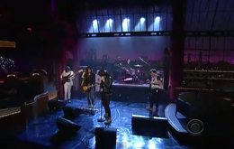 The Strokes on David Letterman
