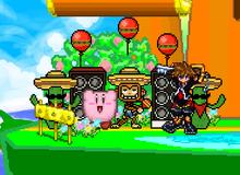 Samba Kirby and Sora