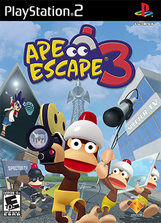 Ape Escape 3 Coverart