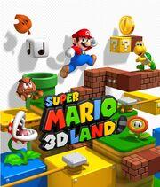 Super mario 3d land art