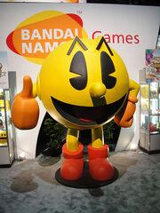 E3 2010 giant Pac-Man at the Bandai Namco booth