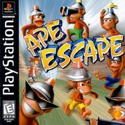 Ape Escape North American Cover