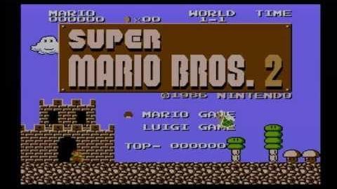 Johnny vs. Super Mario Bros. 2 (The Lost Levels)