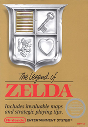Legend of zelda cover (with cartridge) gold