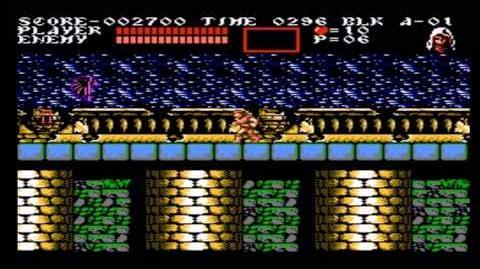 Johnny vs. Castlevania 3 Dracula's Curse