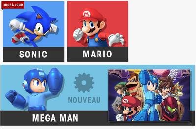 Sonic mario megaman