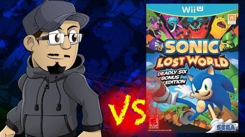Johnny vs. Sonic Lost World (Wii U & 3DS)