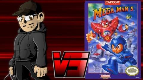 Johnny vs. Mega Man 4 & 5