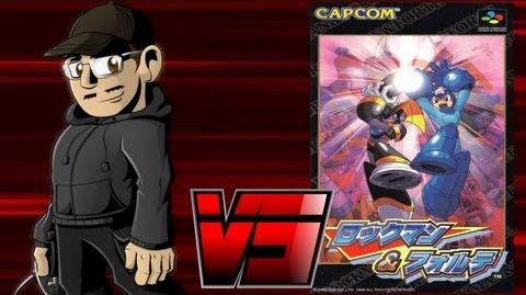 Johnny vs. Mega Man & Bass