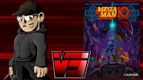Johnny vs. Mega Man 9 & 10
