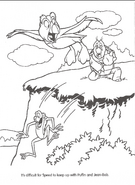 Swan Princess official coloring page 21