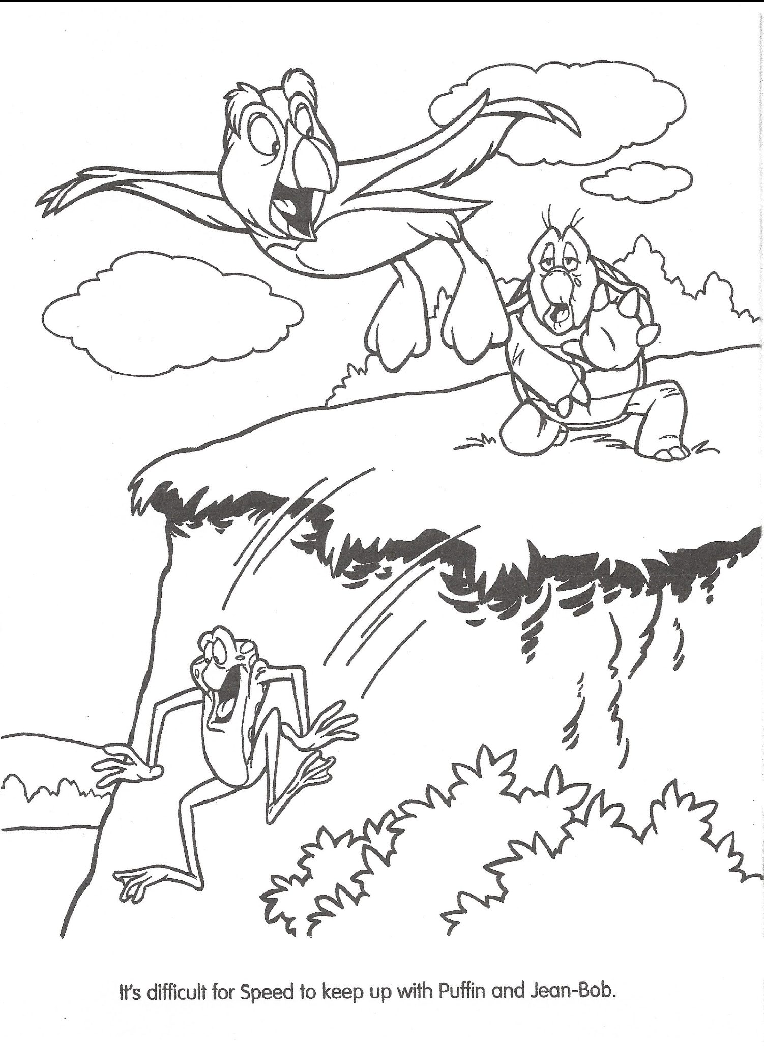 The Swan Princess Coloring Pages | 2062x1502