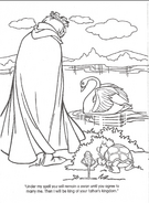 Swan Princess official coloring page 11