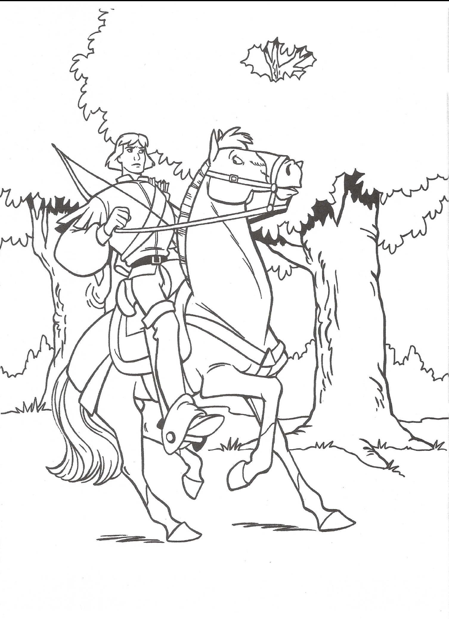 Image - Swan Princess official coloring page 27.png | The Swan ...